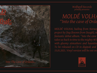 MOLDÉ VOLHAL - Into the Cave of Ordeals