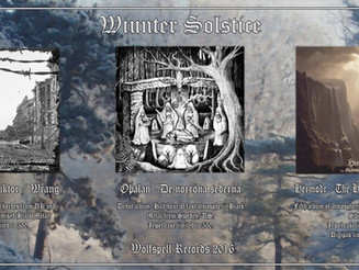 Winter Solstice Releases!