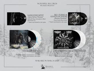 Vinyl peorders