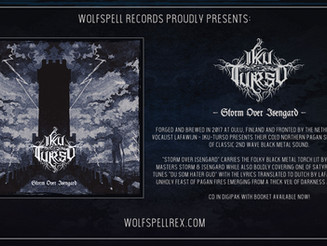 IKU-TURSO - Storm Over Isengard - Out now!