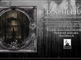 D APHELIUM - Profetian om Dygden och Plikten