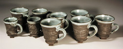 Baked Clay Studio_Cameron Petke _Iron mugs