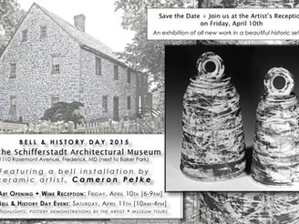 Solo Installation | Schifferstadt Architectural Museum | Bell & History Day | Fri, April 10th +