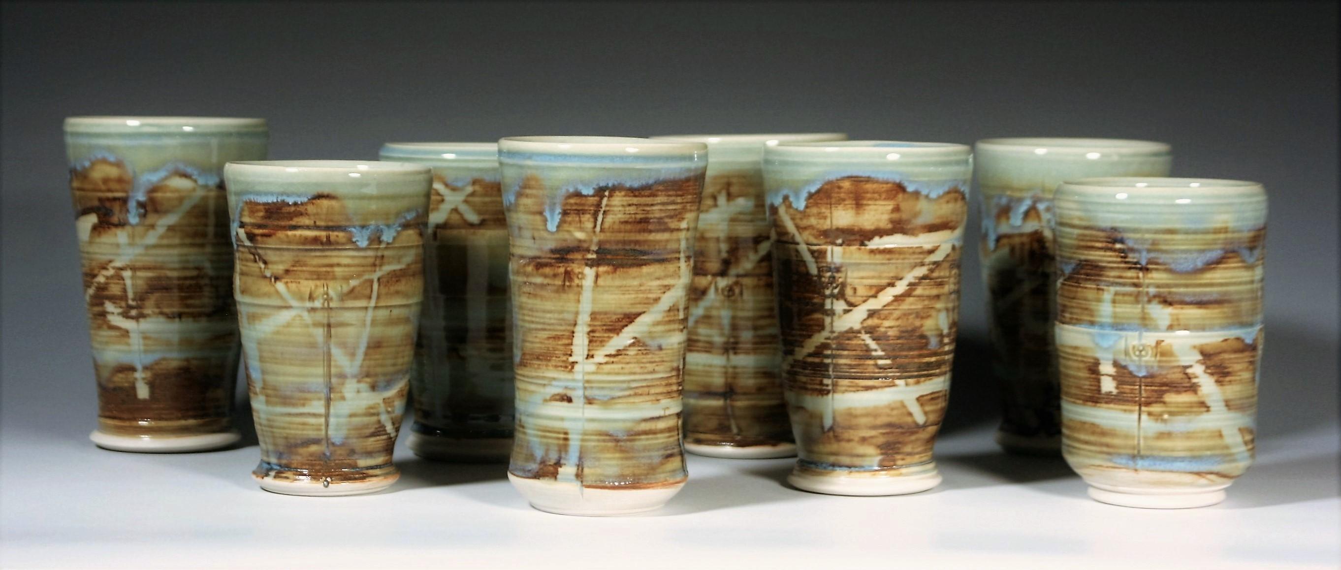 Baked Clay Studio_Cameron Petke _Porcelain tumblers