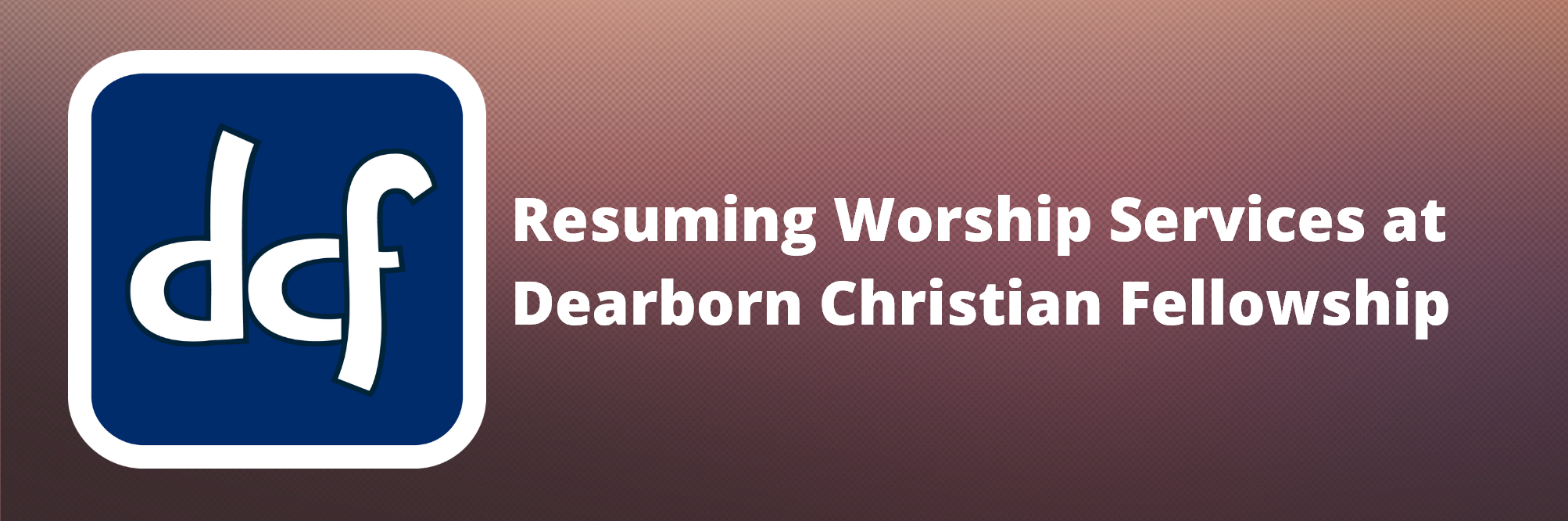 resuming worship