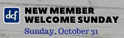 New Member Sunday 10-31
