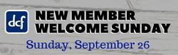 New Member Sunday 9-26