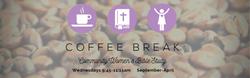 Coffee Break website banner