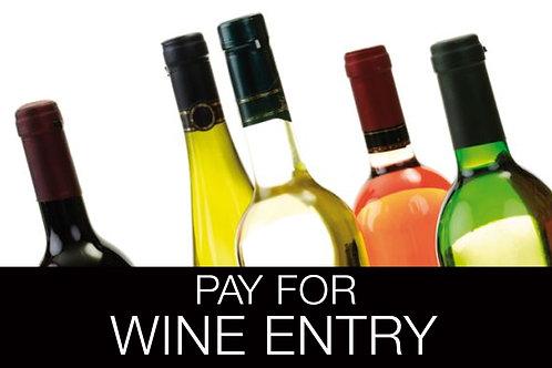 2018 Ontario Wine Awards Entry Fee