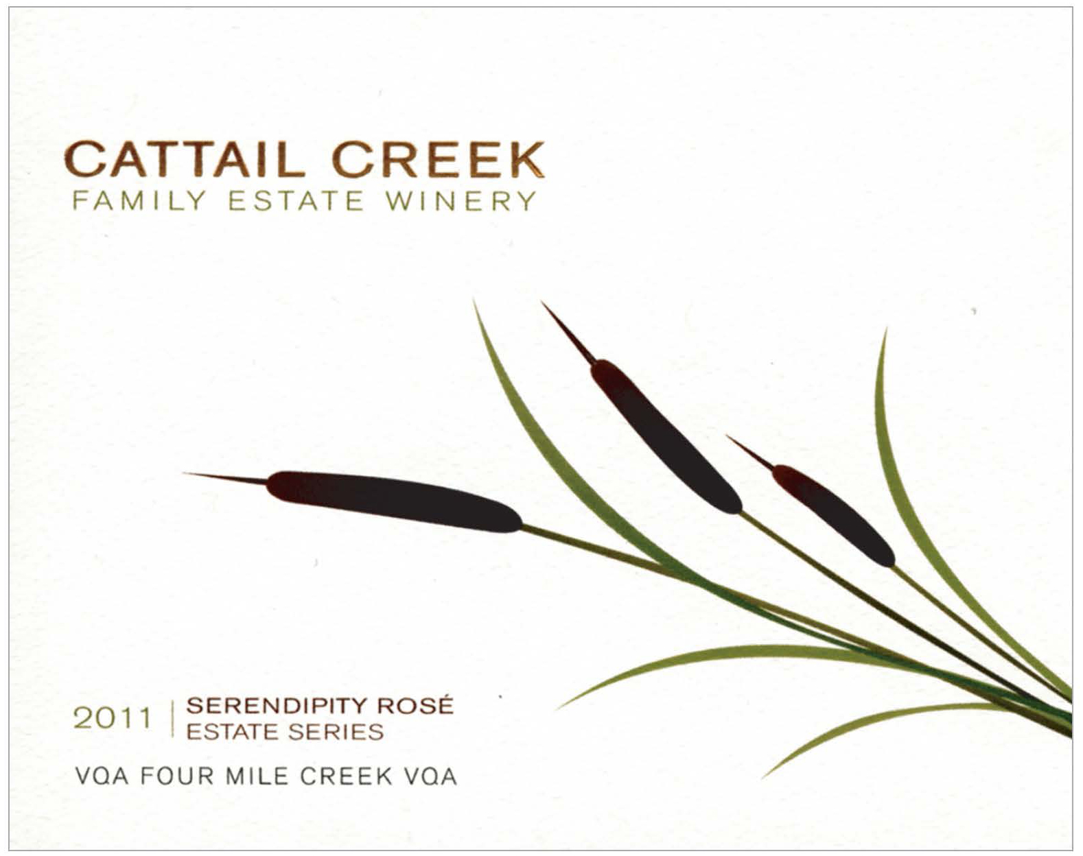 Cattail Creek Estate-2013-SILVER
