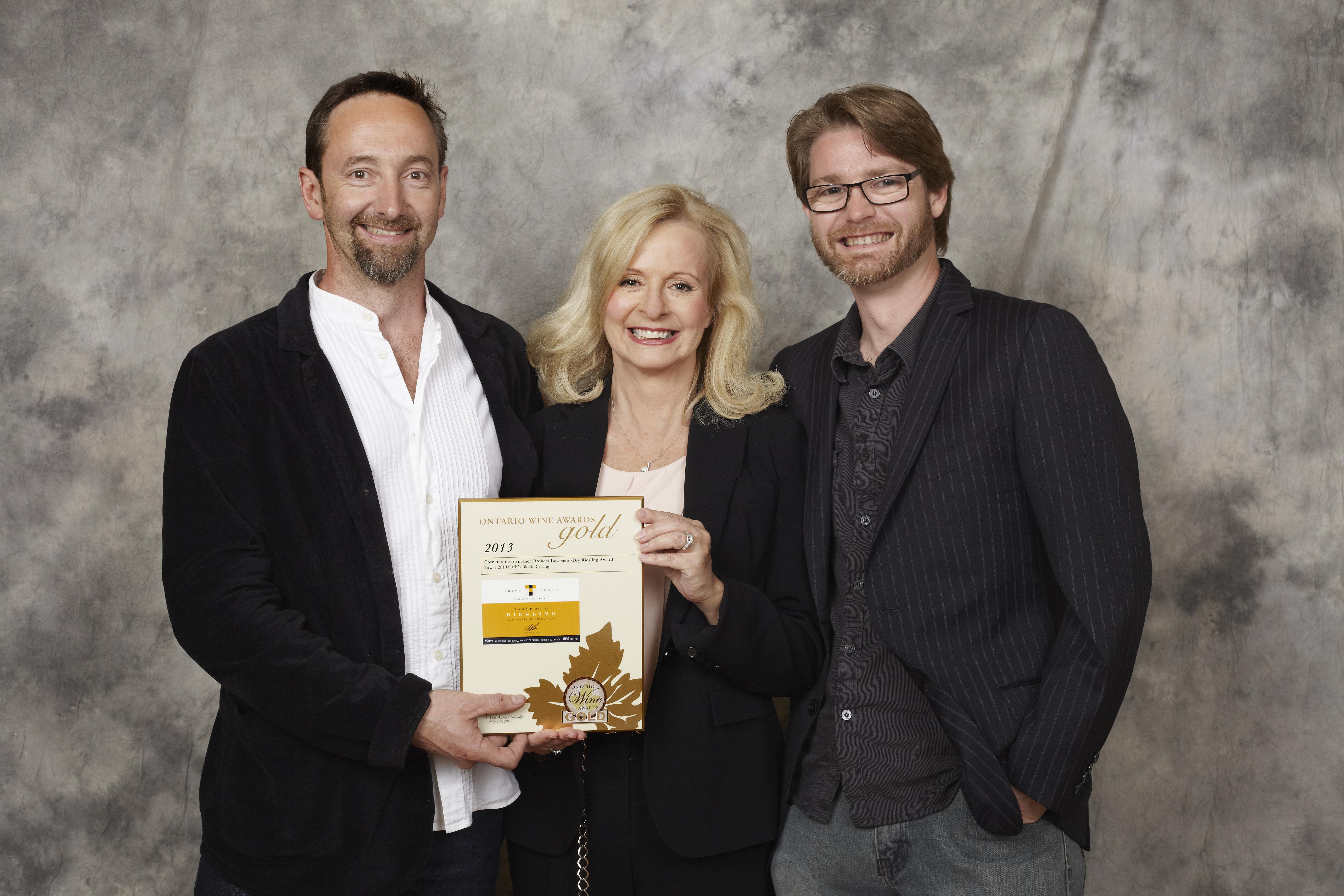 Semi-Dry Riesling Award: