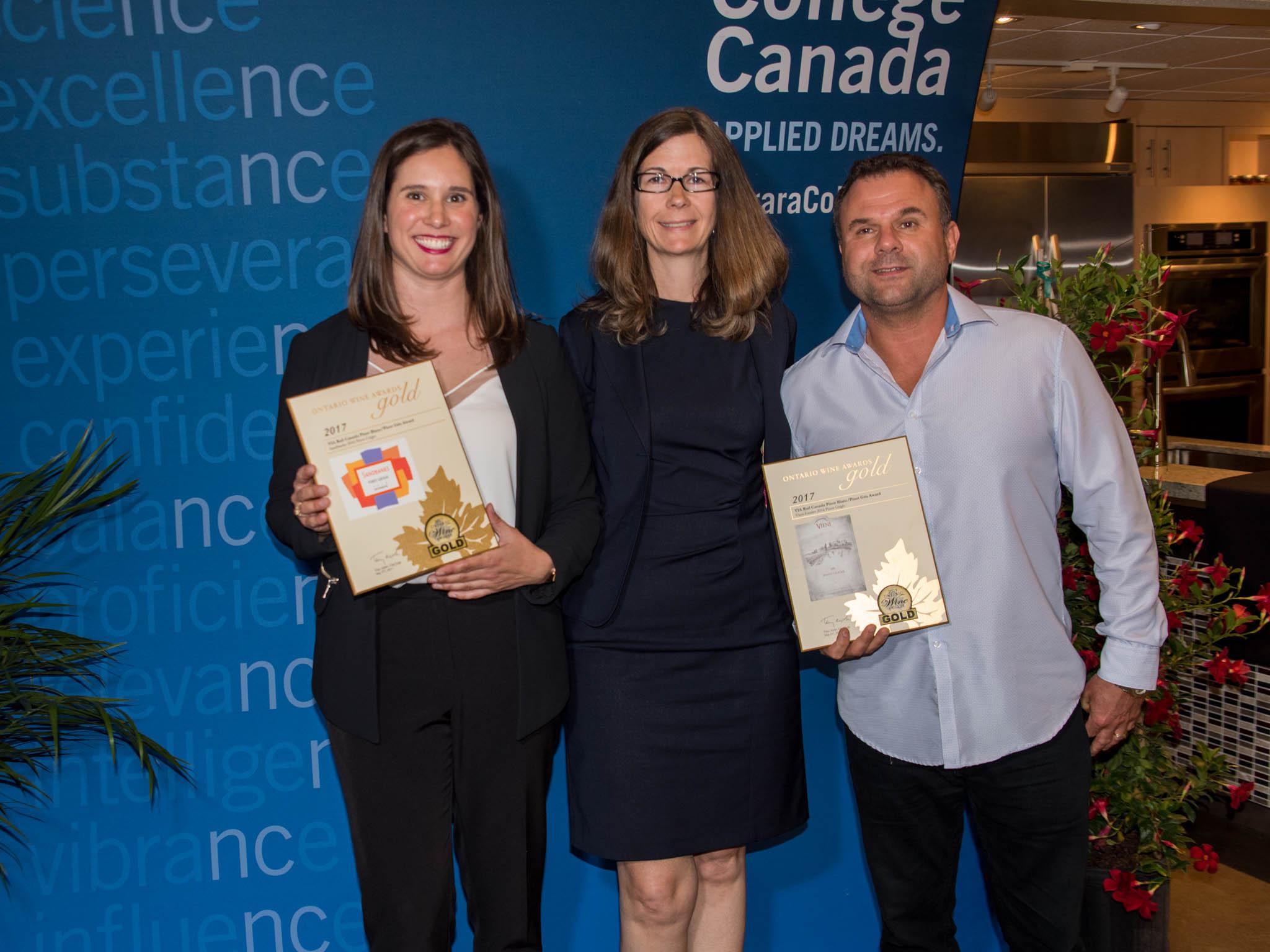Pinot Blanc/Pinot Gris Award: