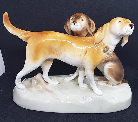Royal Dux Dogs