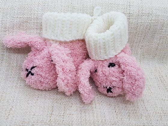 Baby Booties - Bunny