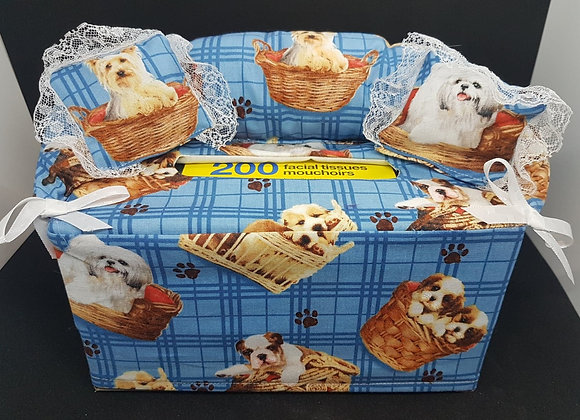 Couch Kleenex Box Covers