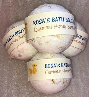 Oatmeal Honey Bath Fizzy