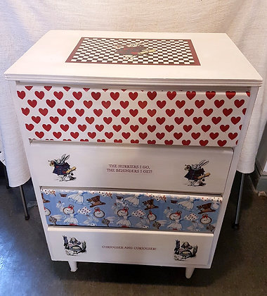 Alice In Wonderland Dresser