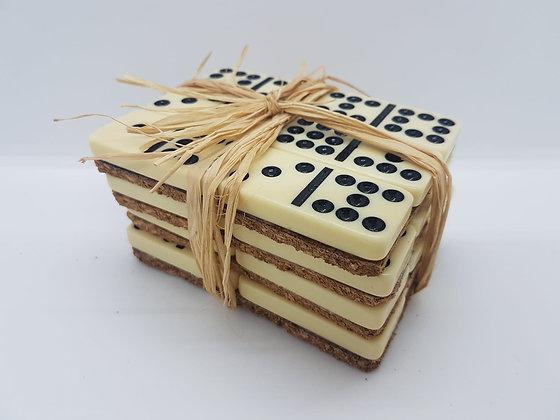 Classic Domino Coasters