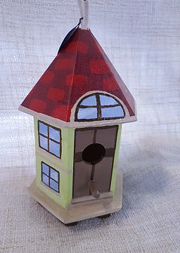 Painted Decorated Birdhouses