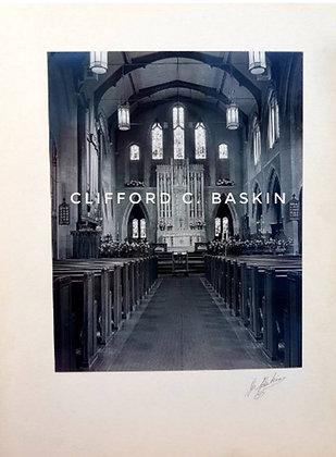 1950s Vintage Photo, Church