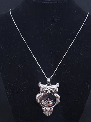 Owl Pendant Charm Holder