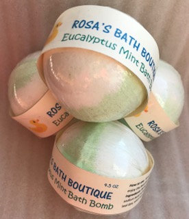 Eucalyptus Mint Bath Bomb