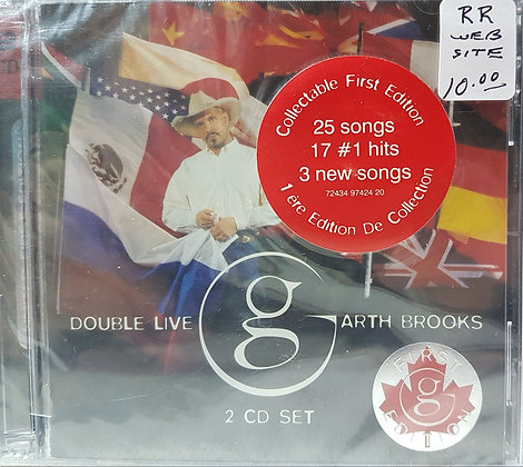 Garth Brooks - Double Live (CD)