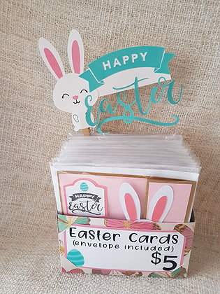 Easter Card - Basket Surprise