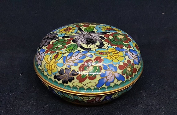 Cloisonne Box From China