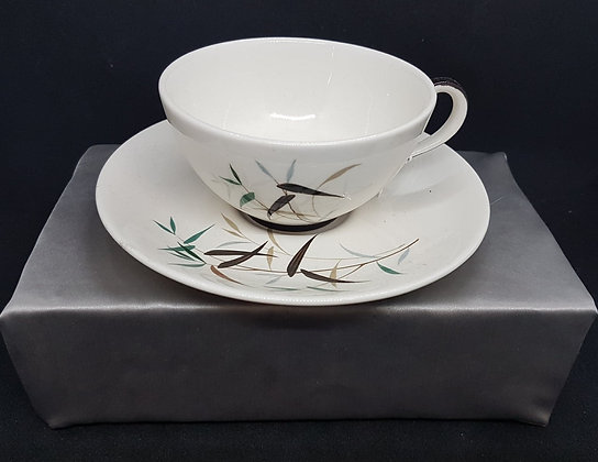 Royal Doulton 'Bamboo' Cup and Saucer