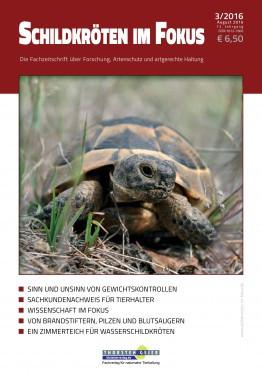 Zeitschrift Schildkröten im Fokus