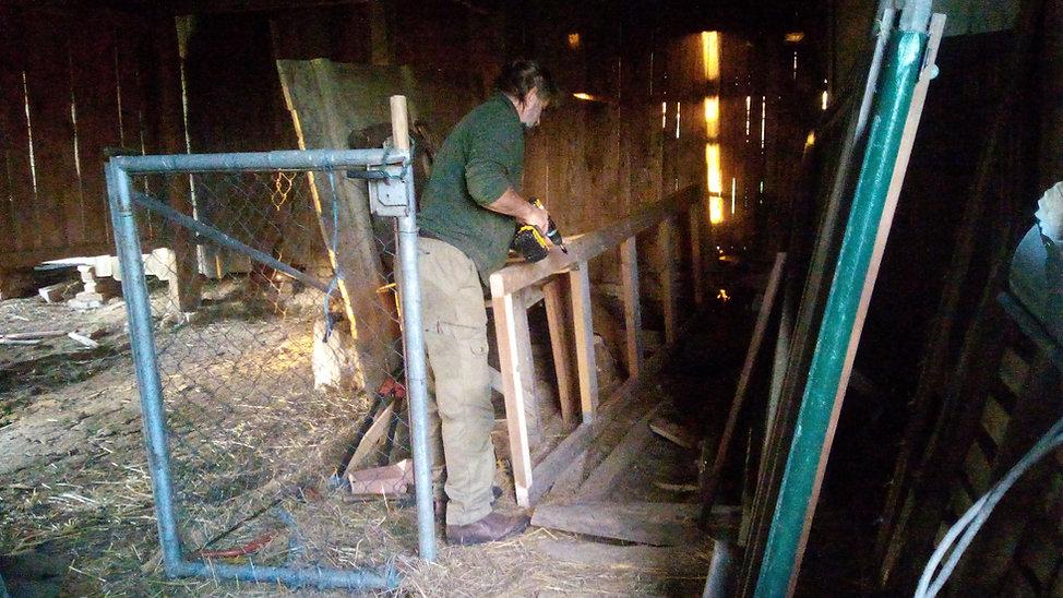 Deckelbau für Grube