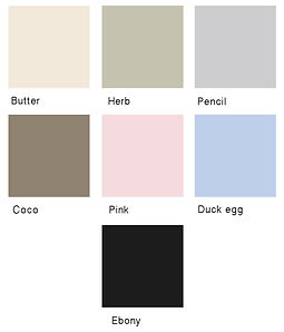 Hutmaker colour range