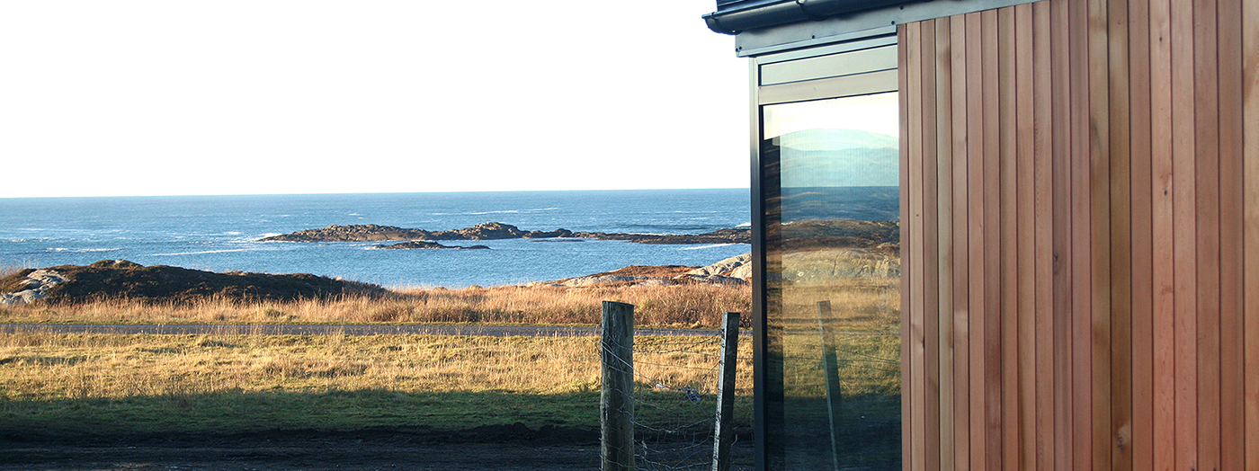 Hebridean retreat overlooking the At