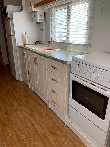 albir oasis park two bedroom mobile home kitchen