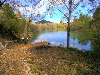 carp fishing lake oasis country park valencia