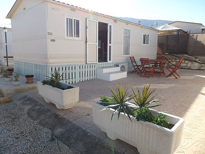 Albir Oasis Park two bedroom mobile home for sale