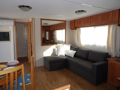 albir oasis park two bedroom mobile home living room