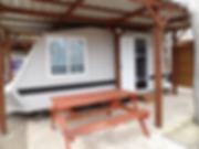 four berth caravan oasis country park