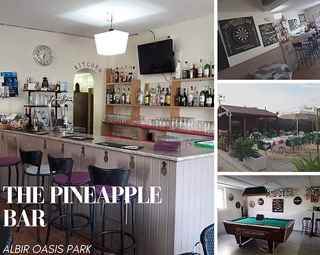 Albir oasis park the pineapple bar