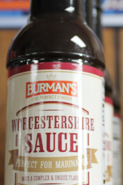 Burman's Worcestershire Sauce 10 oz