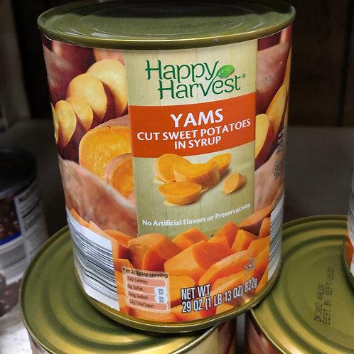 Happy Harvest Yams 29 oz