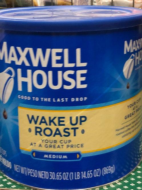 Maxwell Wake Up Roast Coffee Medium Blend