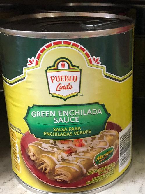 Pueblo Lindo Green Enchilada Sauce 28 oz.