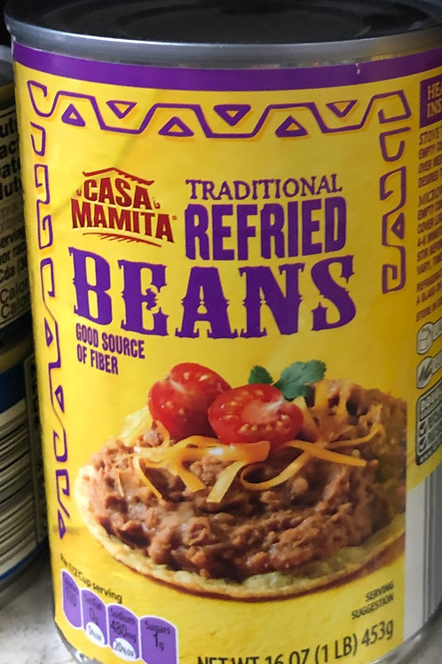 Casa Mamita Traditional Refried Beans 16 oz