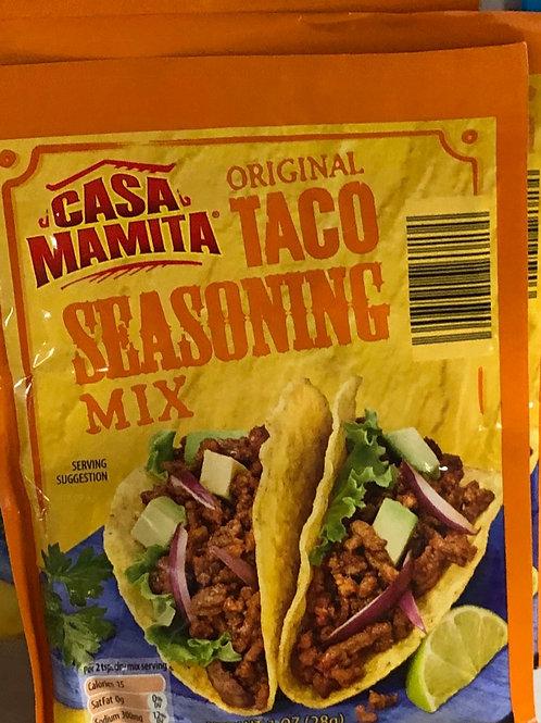 Casa Mamita Taco Seasoning Mix 1oz