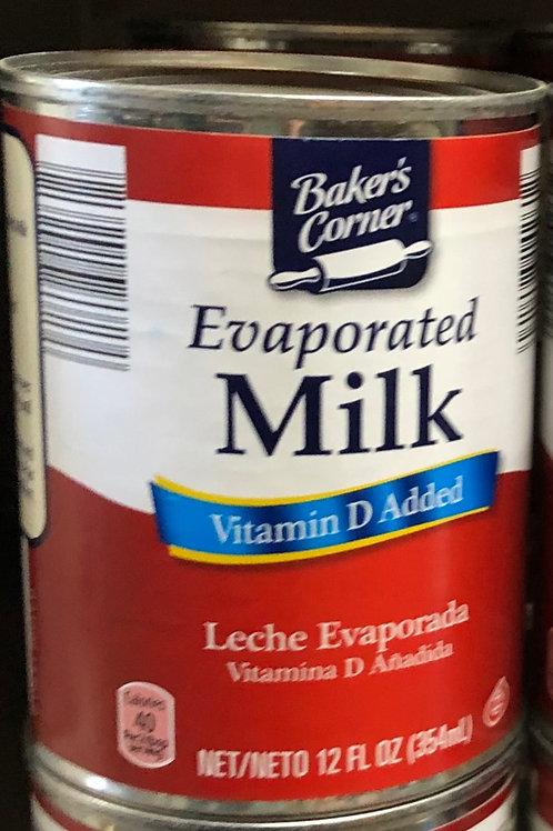 Baker's Corner Evaporated Milk 12 oz