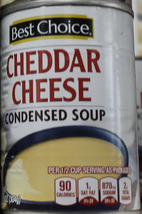 Best Choice Cheddar Cheese Soup 10.75 oz