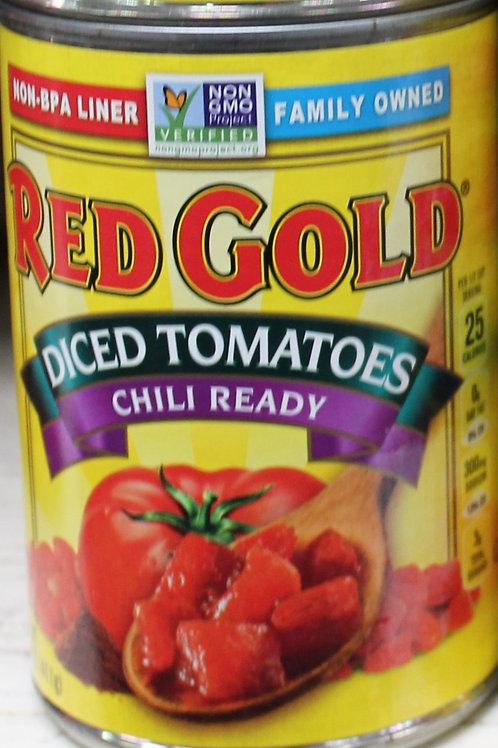 Red Gold Diced Tomatoes Chili Ready 14.5 oz