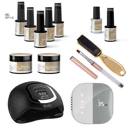 Ensemble professionnel Gel Dure / Professional kit Hard Gel